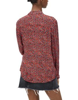 Camisa Pepe Jeans Camelia multicolor mujer