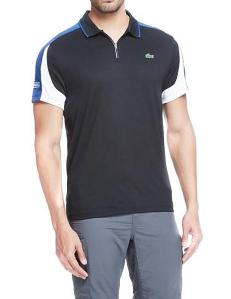 3910ecd72823d ... Polo Lacoste Sport Tenis DH9480 negro hombre. Hombre. Gallery 005813 3.  Gallery 005813 1