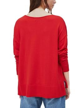 Jersey Pepe Jeans Lucy rojo mujer