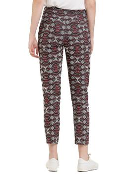 Pantalones Naf Naf Estampado Tribal multicolor mujer