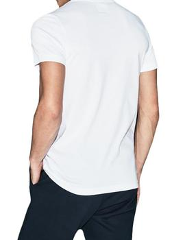 Camiseta Tenis Lacoste Sport TH3377 blanco