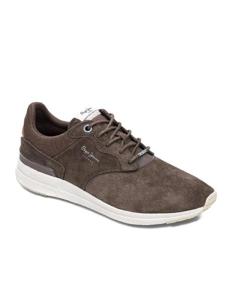 88507073623 Zapatillas Pepe Jeans Jayker Dual marrón hombre