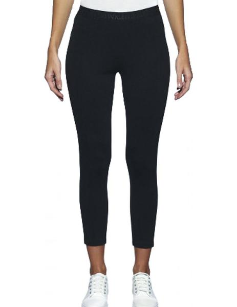 Pantalones Calvin Klein Milano Legging Negro Mujer