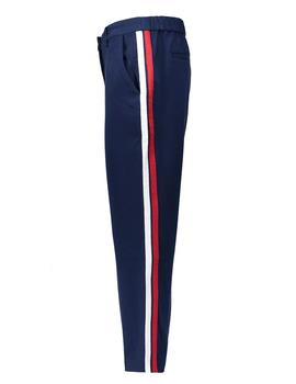 Pantalones Tommy Denim Side Detail azul mujer