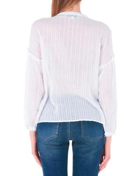 Blusa Designers Society Puffed Blouse Blanco