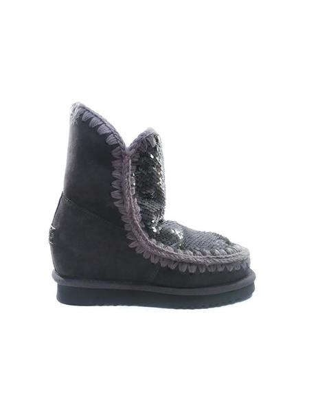 054032d234 ... Botas Mou Eskimo Wedge Short Sequins gris mujer. Mujer. Gallery 005209  3. Gallery 005209 1