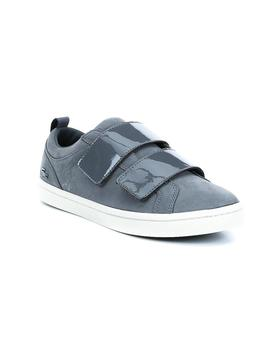Zapatillas Lacoste Straight Set Strap gris mujer