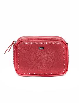 Bolso Pepe Jeans Phoebe rojo mujer