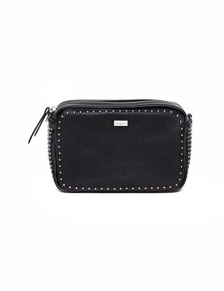 634c4e51346 ... Bolso Pepe Jeans Phoebe negro mujer. Mujer. Gallery 004972 3. Gallery  004972 1