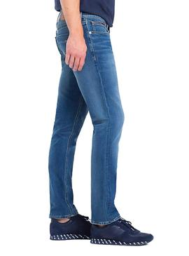Vaqueros Tommy Denim Slim Scanton FLTNM azul