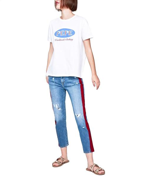 d7fcd19b Vaqueros Pepe Jeans Jolie Tux Azul para Mujer en 14 Oz