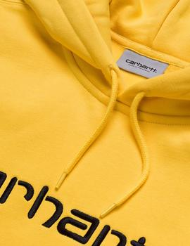 Felpa Carhartt Hooded Sweat amarillo hombre