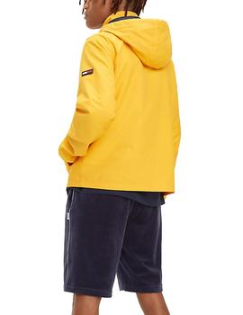 Cazadora Tommy Jeans Essential Hooded amarillo
