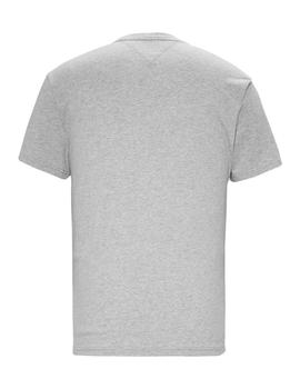 Camiseta Tommy Jeans Circle Graphic gris hombre
