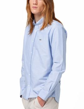 Camisa Edmmond Studios Button Down Edition azul hombre