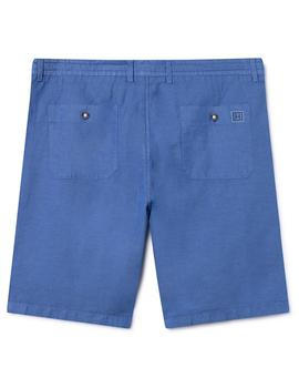 Bermudas Hackett GMT Dye Beach Pull On azul hombre