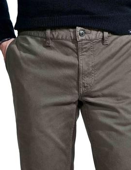 Pantalón Façonnable Slim Fit Chino verde