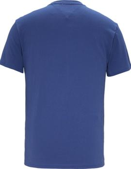 Camiseta Tommy Jeans Circle Graphic azul hombre