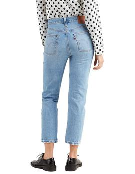 Vaqueros Levi's 501 Crop Authentically Yours azul mujer