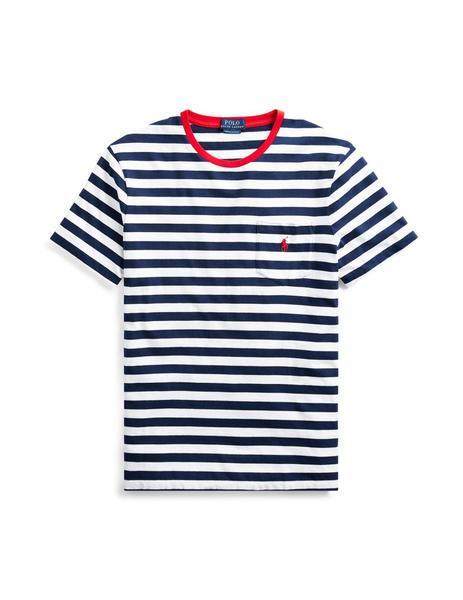 4405e01a770 ... Camiseta Ralph Lauren Rayas marino/blanco hombre. Hombre. Gallery  a00511 1