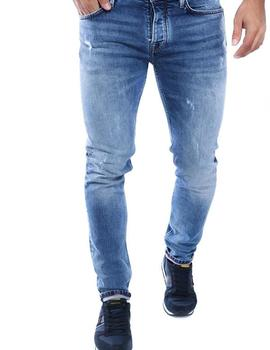 Vaqueros Pepe Jeans Hatch Used azul hombre