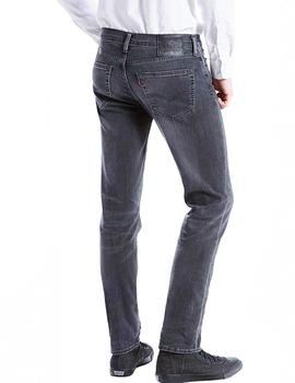 Vaqueros Levi's 511 Slim Fit Headed East gris