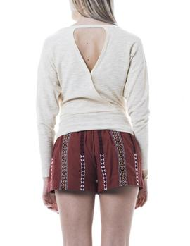 Jersey Pepe Jeans Marga beige mujer