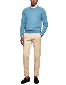 Pantalones Hackett Ultra Light Chino tostado hombre