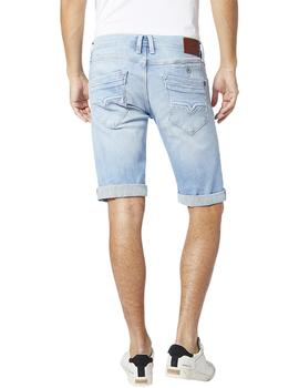 Bermudas Pepe Jeans Spike Light Used Denim azul hombre