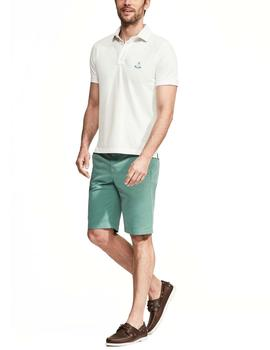 Polo Façonnable BIOT Club blanco hombre