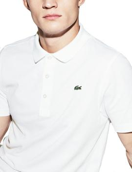 Polo Tenis Lacoste Sport Ultra Light blanco hombre