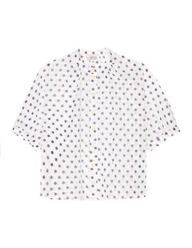 Camisa Lunares Paul and Joe Sister Tralala blanco mujer