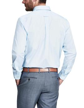 Camisa Façonnable Essential Casual Club azul hombre