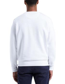 Sudadera North Sails Round Neck Graphic blanco