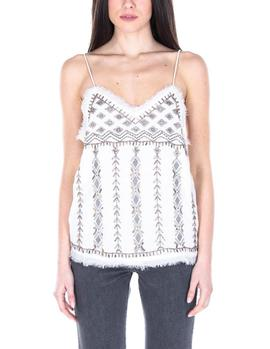 Top Pepe Jeans Susan blanco mujer