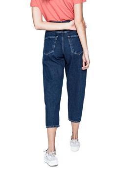 Vaqueros Pepe Jeans Casey Mom Fit azul mujer