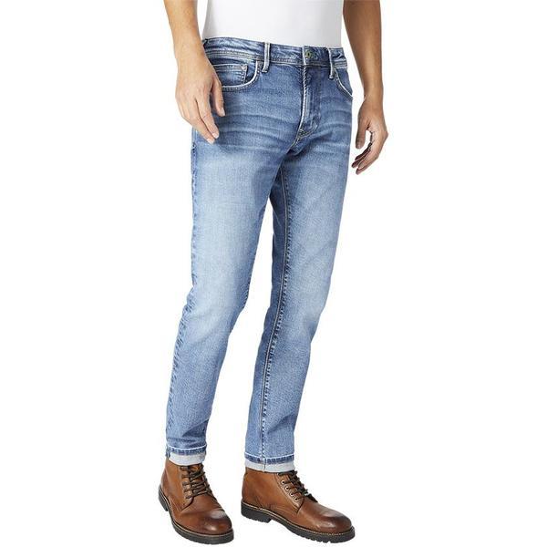 5e6b45d6ee8 Vaqueros Pepe Jeans Stanley Wiser Wash azul hombre L32